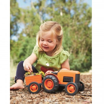 robuster Traktor für Wasser- & Sandspiele