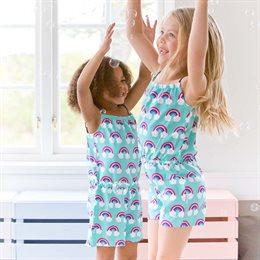 Cooler Mädchen Jumpsuit