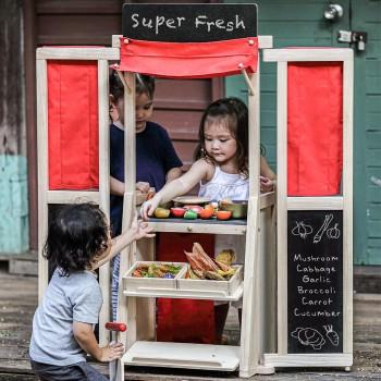 Spielcenter - Kaufstand, Theater & Spielküche