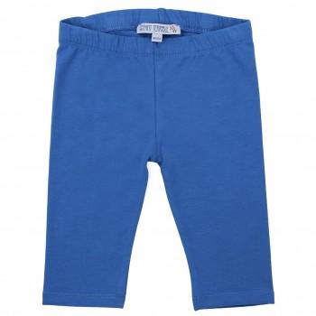 Blaue 3/4 Leggings uni