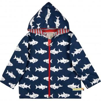Ungefütterte Outdoorjacke Abperleffekt Haie