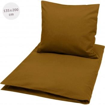 Bettwäsche 135 x 200cm safran