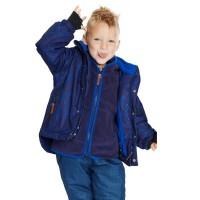 Vorschau: Schneejacke Winterjacke für Jungen hinten länger