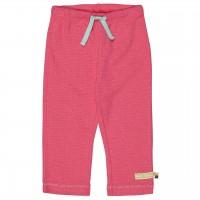 Leichte Sommerhose Waffelstruktur pink