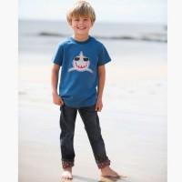 Cooles BIO Shirt für Jungen von frugi - Keep Smiling