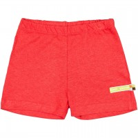 leichte Leinen Shorts rot