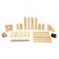Vorschau: Magnet-Holzbauklötze-Natural 42-teilig