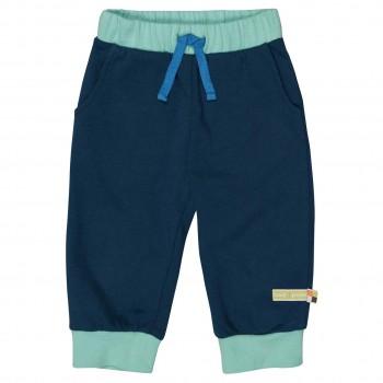 Leichte Sweat Jogginghose dunkelblau