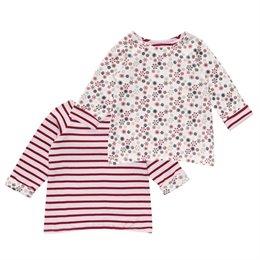 Wendeshirt für Babys und Kinder mit Ringel und Flocken