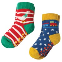 Stoppersocken 2er Pack Gans