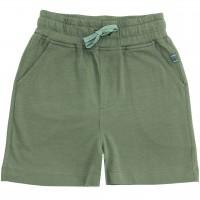 Jungen Shorts Uni oliv-grün