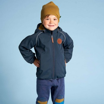 Übergangsjacke Softshell in navy