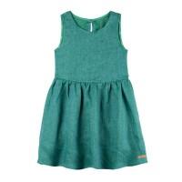 Grünes, leichtes Mädchen Sommerkleid