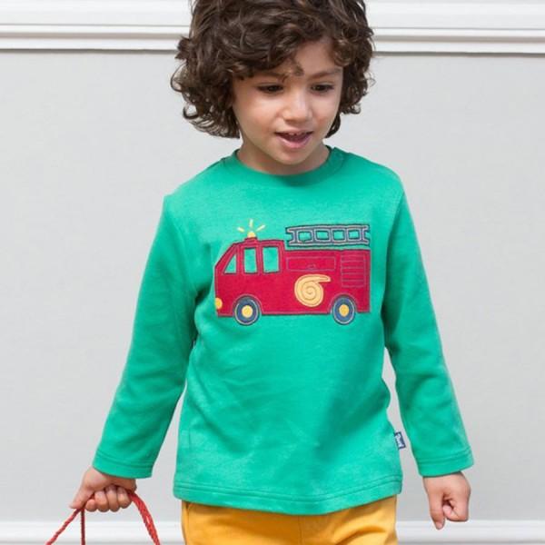 Tatü Tata Shirt für Kinder mit Druckknöpfen