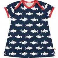 sommerliches Kleid Haie dunkelblau
