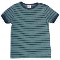 Cooles T-Shirt gestreift griffig grün