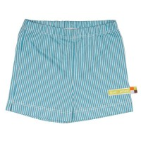 loud and proud Bio Kindershorts blau