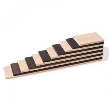 Grimms Bauplatten Set monochrom