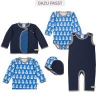Vorschau: Schneemann Shirt Jersey ice blau
