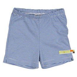 gestreifte leichte Shorts blau pacific