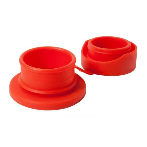 Pura kiki Sportverschluss mit Deckel – rot