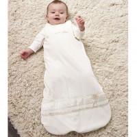 Schlafsack warm & edel für 0-6 Monate - 70 cm