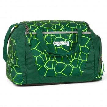 Kinder Sporttasche 20 Liter grüne Schuppen