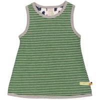 Bio Mädchen Kleid leicht und warm grün