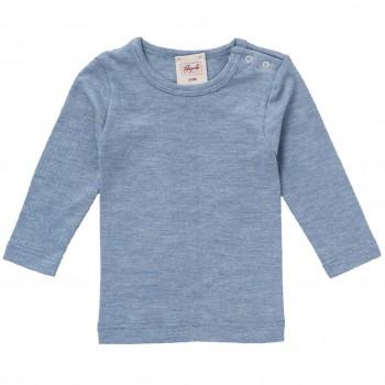 Wolle Seide Langarmshirt