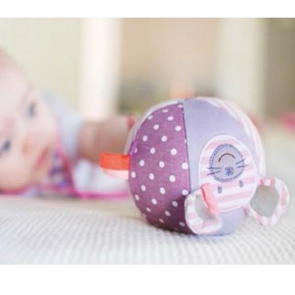 Bio Babyspielzeug Ball von apple park - süsse Maus