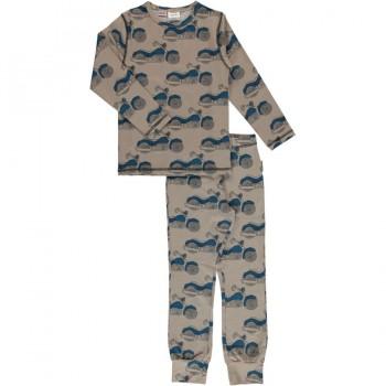 Cooler Schlafanzug normal dünn und elastisch
