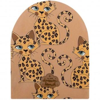 Gepard Beanie braun