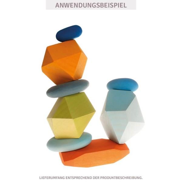 Grimms Flusskiesel 4Stk. Balance Spiel