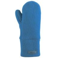 Bio Wolle Kinder Handschuhe eisblau