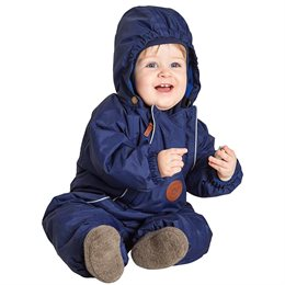 Warmer navy Winteroverall Baby