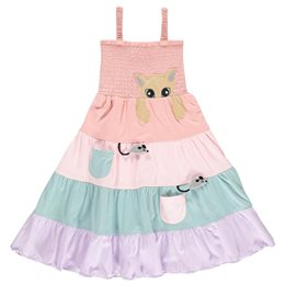 Schickes Sommerkleid - Katze