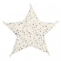 Sternen Schnuffeltuch Kapok Füllung 37x37 cm