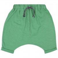 Lässige Baggy-Style Shorts grün