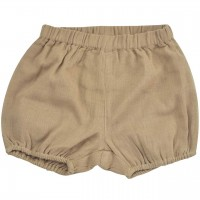 Luftige, lockere Musselin Shorts haselnuss-braun