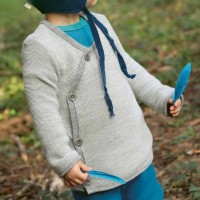 Wickeljacke Baby in grau