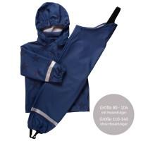 Vorschau: Regenbekleidung blau Sterne ungefüttert