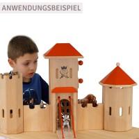 Vorschau: Ritterburg Schloss gross 70 x 70 x 48 cm