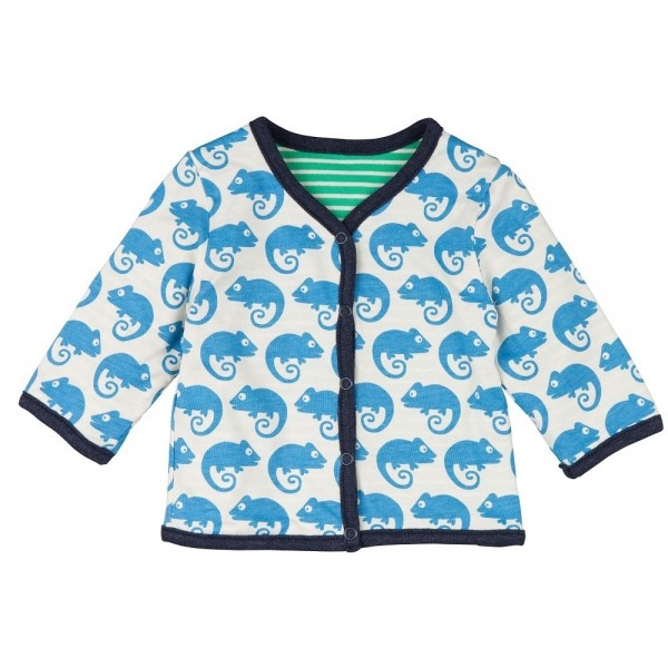 Loud and Proud Wendejacke ohne Kapuze Gecko blau