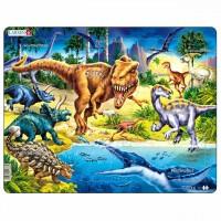 Kinder Puzzle ab 3 Jahren Dino Motiv