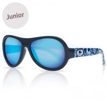Kinder Sonnenbrille 3-7 schadstofffrei Print blau