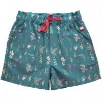 Leichte Popeline Shorts Wiesenblumen