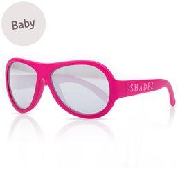 Baby flexible Sonnenbrille 0-3 Jahre  uni pink polarisiert