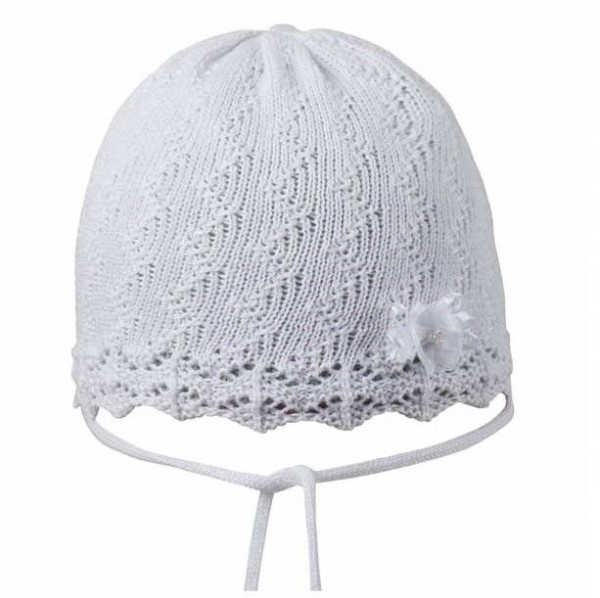 Häkel Babymütze für warme & kühle Tage von pure pure weiß