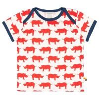 Kurzarm Shirt rot Nashorn