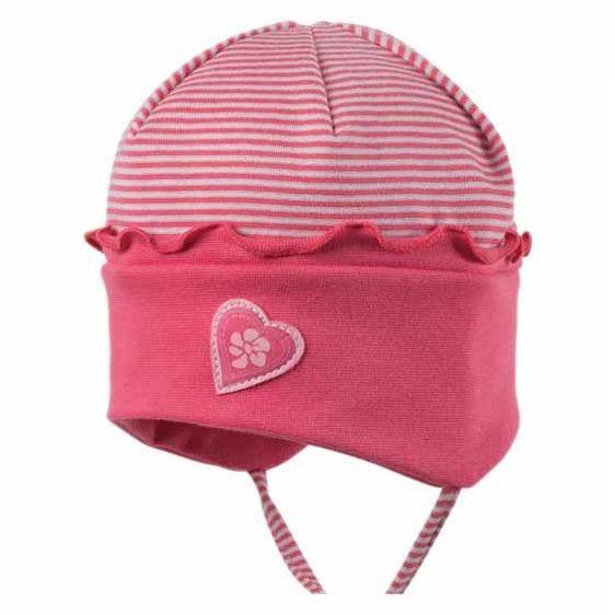 Bio Babymütze für Sommer & Übergangszeit - pink